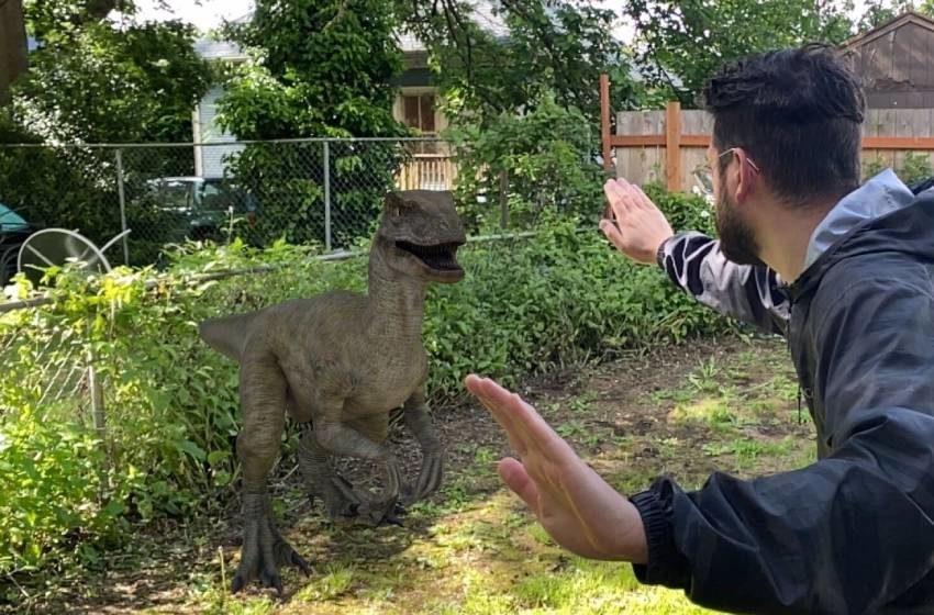 Dinosaurios en Realidad Aumentada ¡desde tu teléfono!