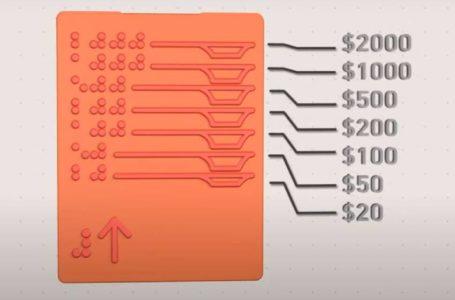 Ciegos podrán contar el dinero por sí solos con este invento