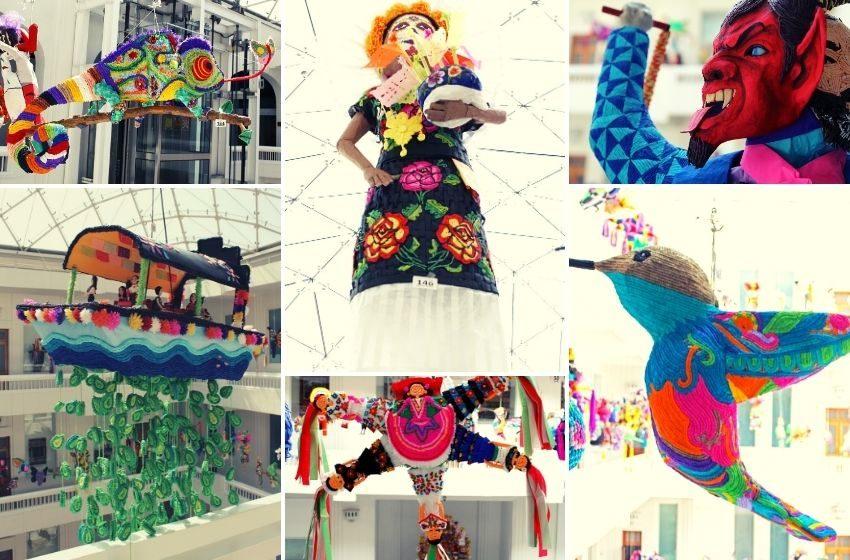 Hermosas piñatas artesanales llegan al Museo de Arte Popular