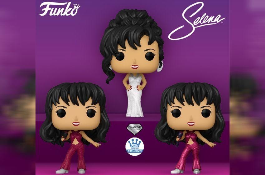 Por fin… Llega la versión Funko de ¡Selena Quintanilla!