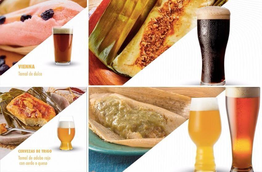 Una mezcla inusual, pero deliciosa: tamales con ¡cerveza!