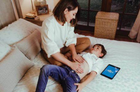 App gratuita de masajes infantiles conecta a padres e hijos