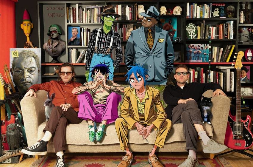 Gorillaz, la banda virtual que cambió la música hace 20 años